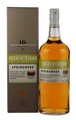 Auchentoshan, Single malt Whisky, Springwood.Lowland. 1 liters.