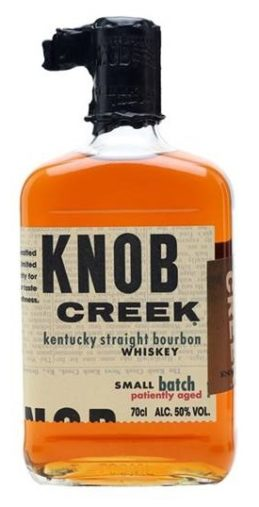 Knob Creek. Straight Bourbon whiskey.