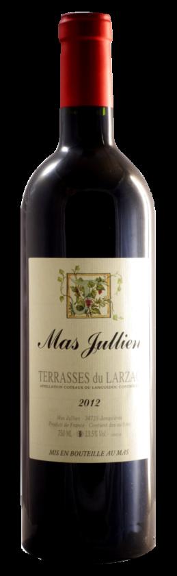 Mas Jullien, Terrasses du Larzac, rouge 2012
